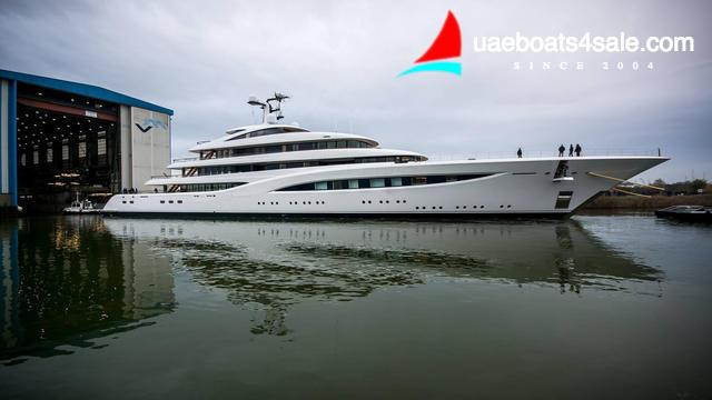 Feadship launches 96m superyacht