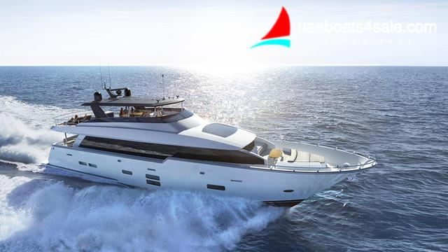The First Hatteras 90 Motor Yacht